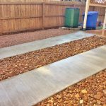 Driveway Strips and River Rock